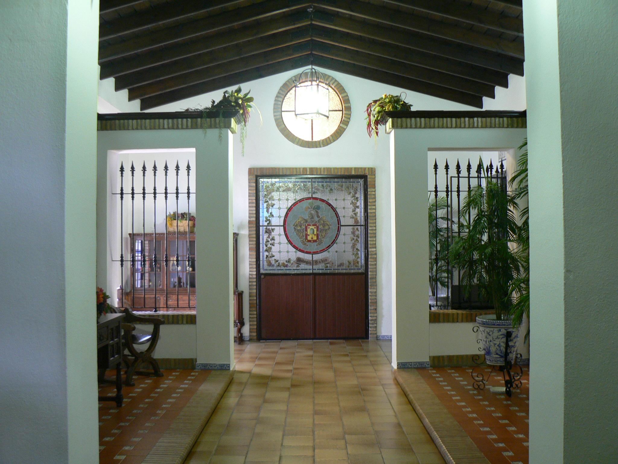 Eingang Bodegas Rubio
